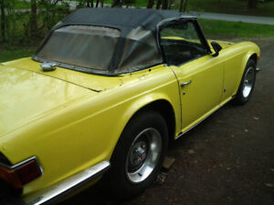 1974 TR6 with overdrive