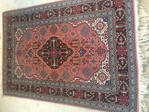 Persian Tabriz Wool &Silk Handknotted rug (Iran)