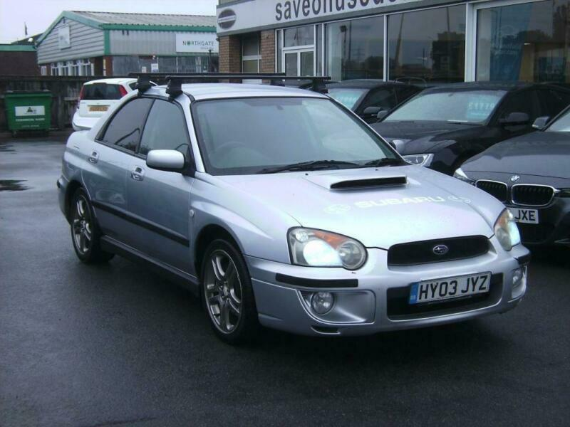2003 Subaru Impreza 2 0 WRX AWD Turbo 4dr 4 door Saloon | in Scunthorpe,  Lincolnshire | Gumtree