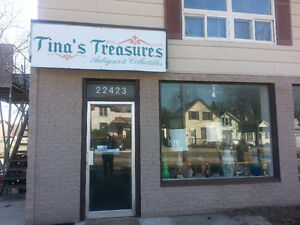 TINA'S TREASURES ANTIQUES & COLLECTIBLES