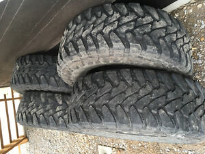 "35"" toyo open country tires only"