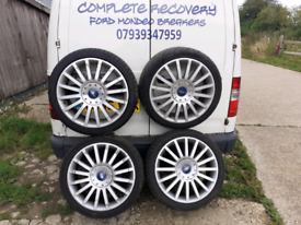 """Ford mondeo transit connect ST alloy wheels 18"""""""