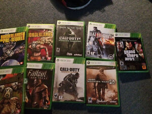 XBOX 360 GAMES WILL SELL FOR CHEAP St. John's Newfoundland image 1