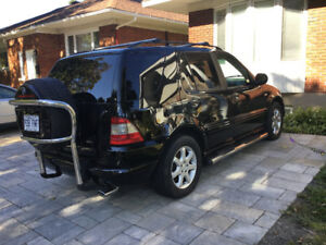 2000 Mercedes-Benz ML-Class 430 cuir, volant noyer, VUS