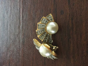 Vintage and costume earrings