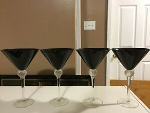 Set of 4 Martini Glasses
