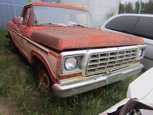 1979 FORD XLT PARTS OR COMPLETE