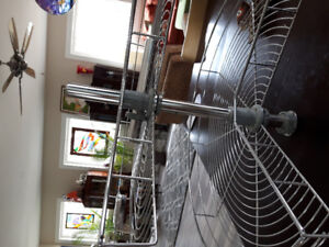 """stainless steel new lazy susan for 30"""" corner."""