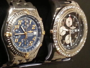 BREITLING 48MM, 48 DIAMONDS, CHRONOGRAPHE...