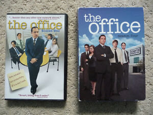 The Office on DVD - Seasons 1 and 4