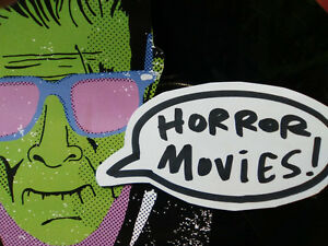 HORROR MOVIES! Halloween monsters! dvd blu-ray vhs laserdisc