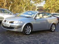 Renault Megane 1.6 VVT Coupe Privilege, Convertable,, 2006, 6 Months AA Warranty