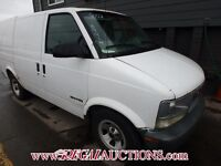 2002 GMC SAFARI EXT CARGO VAN