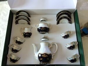 Coffee set - Hungarian Prcelain by Zsolnay Oakville / Halton Region Toronto (GTA) image 1