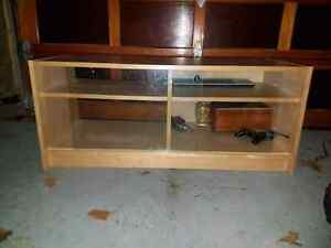 Ikea TV Cabinet Entertainment with Glass Doors