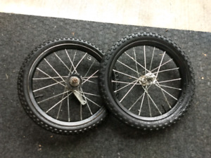 """12"""" bike tires and rims"""