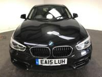 2015 15 BMW 1 SERIES 1.5 116D SPORT 5D AUTO 114 BHP DIESEL