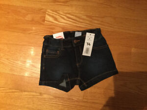 Short de jeans JOE FRESH 4 ans NEUF avec étiquette