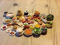 Dolls house food, vintage items,