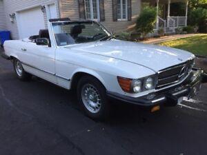 MERCEDES 380SL 1985