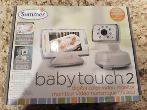 Summer Infant TOUCHSCREEN DIGITAL COLOUR VIDEO MONITOR