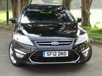 2012 Ford Mondeo 2.0TDCi Titanium**DIESEL**FSH**£130 TAX**67MPG**FINANCE**