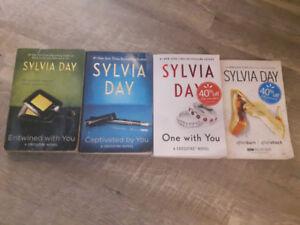 Sylvia Day Crossfire novel collection plus bonus novelAfter burn