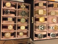 Vintage Rolex , Omega ,Tudor, Jaeger, IWC , Heuer and Cartier watch collections bought.