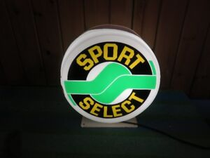 SPORT SELECT LOTTO SIGN NEVER USED NOT A RETAIL PIECE ASKING $11