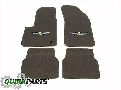 07-10 Chrysler Sebring SEDAN Pebble Beige Carpet Floor Mats MOPAR GENUINE OEM