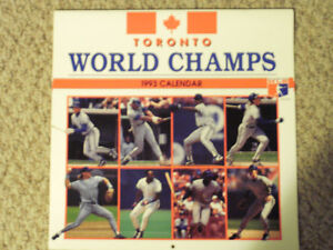 World Champion Blue Jays 1993 Calender