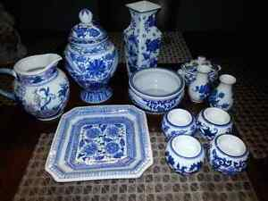 BOMBAY BLUE AND WHITE COLLECTION