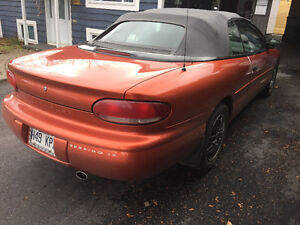 2000 Chrysler Sebring decapotable Coupé (2 portes)