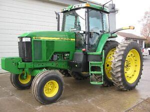 John Deere 7710 Tractor London Ontario image 1