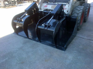Brand new skid steer grapple bucket 72""