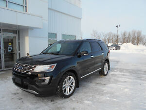 Brand New 2016 Ford Explorer Limited - Includes 2 yrs Maintenanc