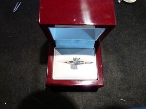 1.48ct 14K Yellow & White Gold Diamond Solitaire I1,good  $7100 London Ontario image 2