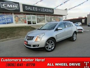 2010 Cadillac SRX Luxury   AWD, NAVIGATION, DUAL DVDS, ROOF, CAM