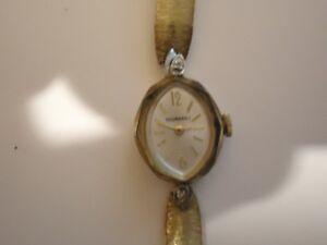 Vintage Woman's Tourneau  17 Jewels Wind Up Dress Watch