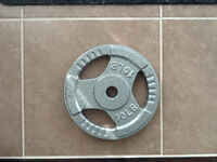 10 lb barbell weight