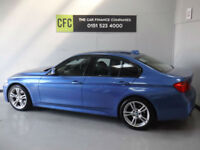 2013 BMW 320 2.0TD 184 s/s Auto d M Sport, Sat Nav, Leather BUY FOR £249 A MONTH