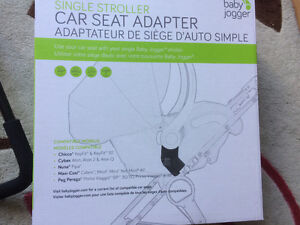 Car seat adapter by Baby Jogger