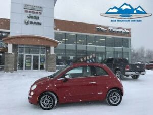 2013 Fiat 500 500C  ACCIDENT FREE, LOCAL TRADE, LEATHER SEATS!