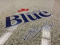 Professionally Installed Epoxy/Performance Flooring Systems