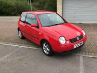 52 reg Volkswagen Lupo 1.4 S Auto 3 Door Automatic Bright Red