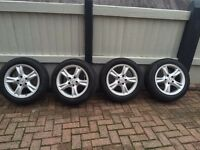 Mercedes CLK alloys and new tyres