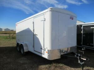"2019 7 x 16 + 6"" Cargo/Enclosed Trailer Canadian Hauler - AIR LI"