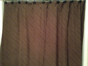 Suede Shower Curtains