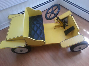 Handmade Wooden Buggy Kids Car to Ride on