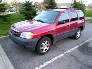 03 MAZDA TRIBUTE (certified)